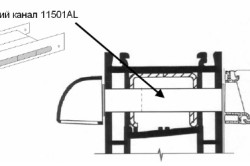 Конструкция клапана вентиляции на пластиковые окна