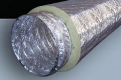 Шумоизоляция воздуховода