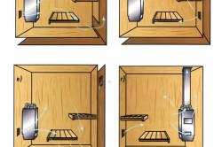 Варианты расположения отверстий для вентиляции в бане