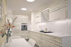 Вентиляционный короб, интегрированный в кухонный гарнитур
