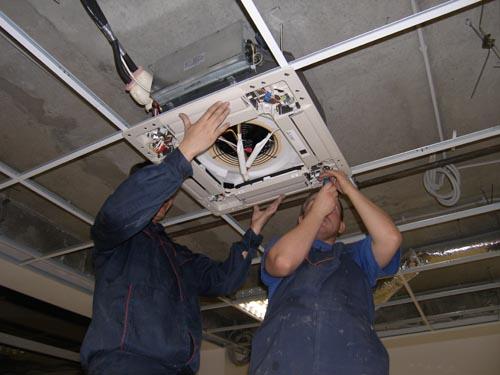 Монтаж вентиляционной системы