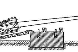Схема установки вентиляторов на фундамент накаткой