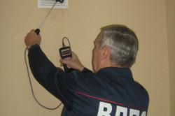 Проверка исправности вентиляции