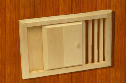 Заслонки на окна вентиляции