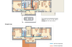 Поэтапная схема прокладки воздуховодов в доме