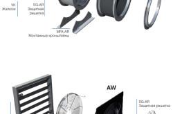 Схема монтажа осевых вентиляторов