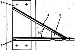 Крепление кронштейна к железобетонной колонне