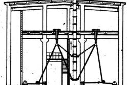 Монтаж вертикальных воздуховодов методом выдавливания