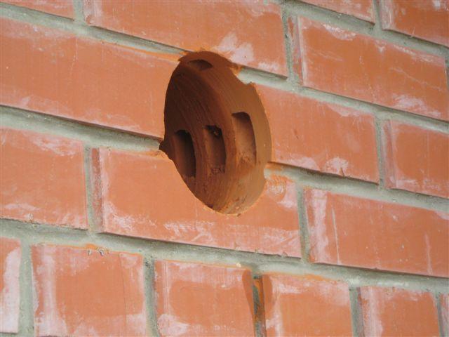 Как сделать вентиляционное отверстие в стене