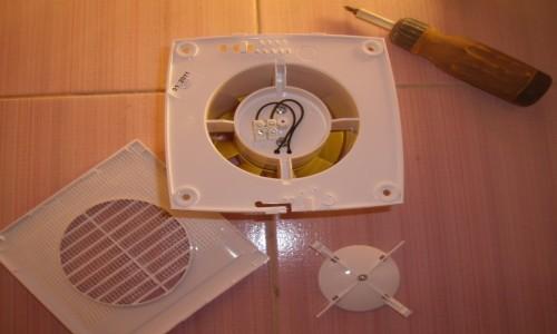 Детали вентилятора