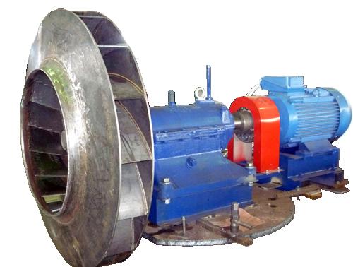 Центробежный вентилятор одностороннего типа