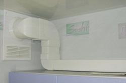 Присоединение вытяжки к вентиляции