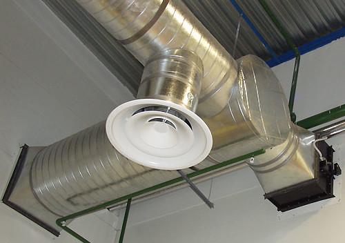 Воздуховоды круглого сечения из оцинкованной стали