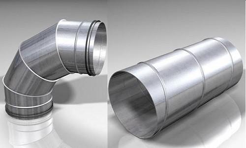 Круглые трубы для воздуховода