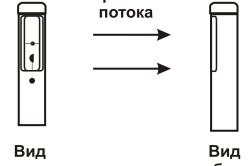 Схема рабочих датчиков телескопического зонда