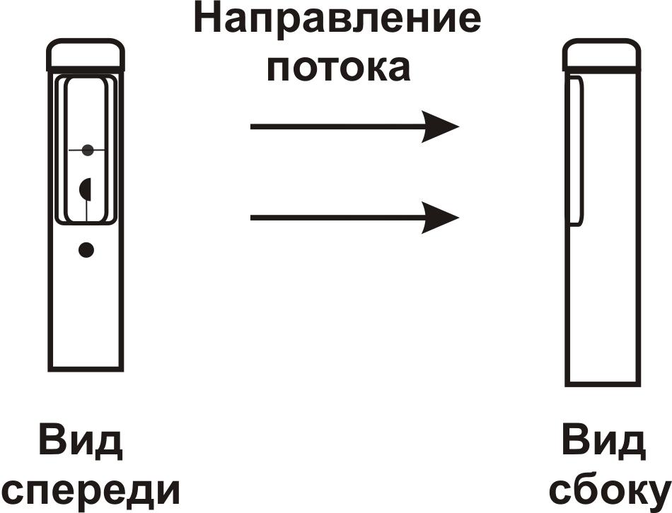 Схема рабочих датчиков