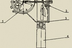Конструкция крыльчатого анемометра