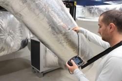 Измерения воздушной массы через вроздуховод